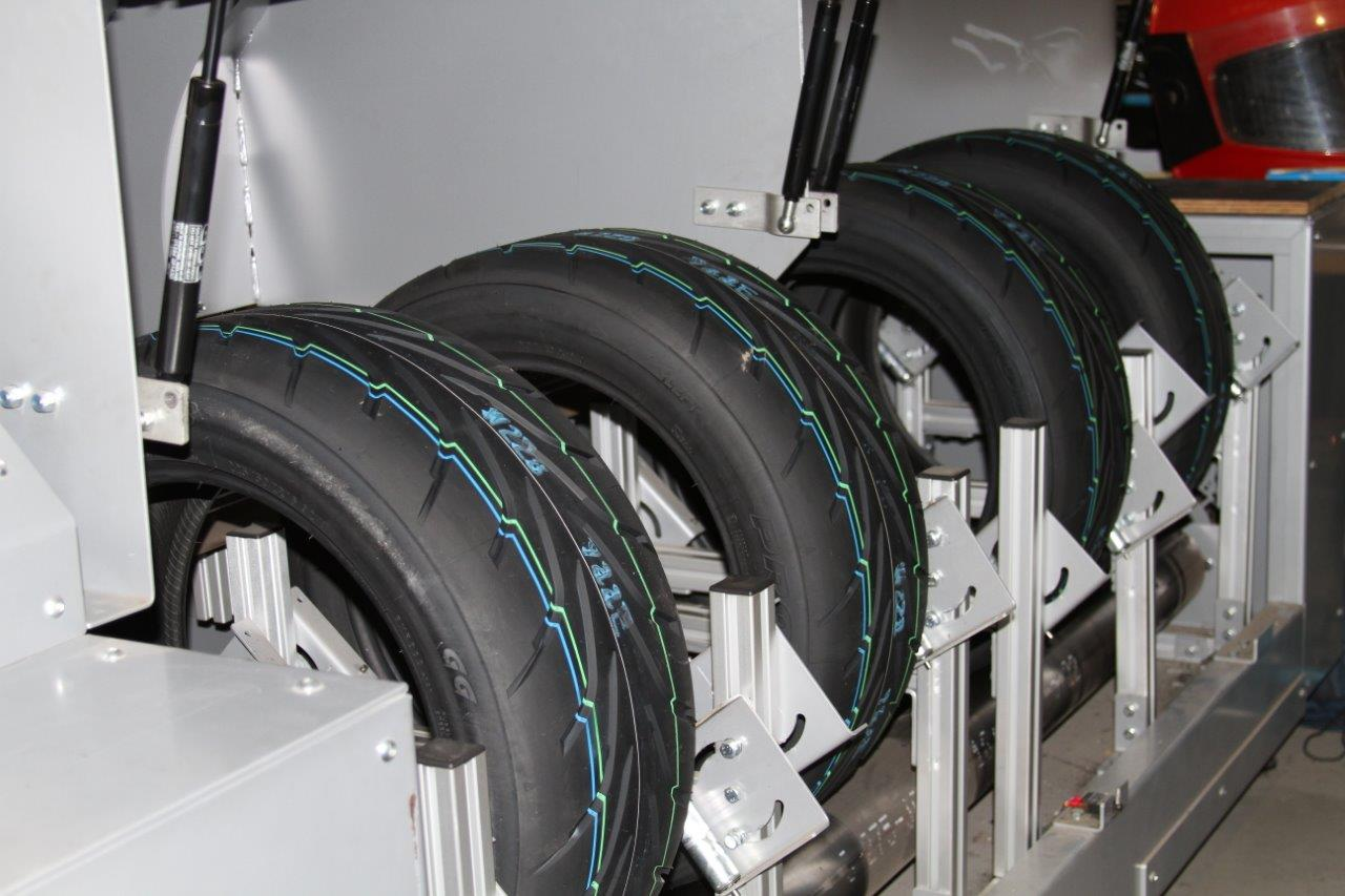 Heat Cycling Tires