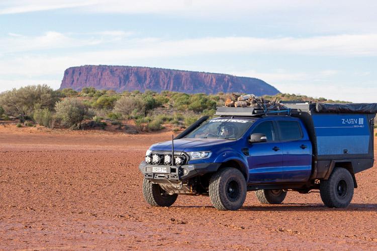 Dan-Everett-Ford-Ranger-Uluru-Riverbed-Campsite