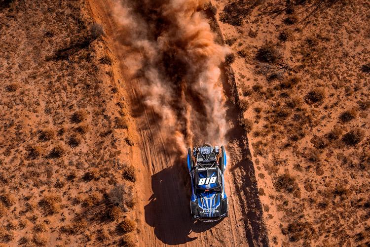 Hayden-Bentley-Motorsports-4WD-Trophy-Truck-Finke-Desert-Race-Helicopter-Photo
